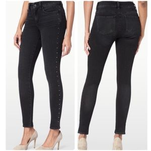 Ami Skinny Studded Legging In Future Fit Denim